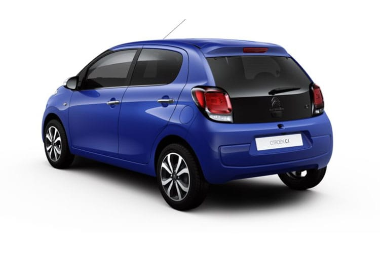 Citroen C1 Hatch 3Dr 1.0 VTi 72PS Touch 3Dr Manual [Start Stop] back view