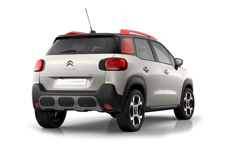 Citroen C3 Aircross SUV 1.2 PureTech 110PS Shine Plus 5Dr Manual [Start Stop] back view