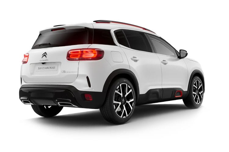 Citroen C5 Aircross SUV 1.5 BlueHDi 130PS Shine 5Dr Manual [Start Stop] back view