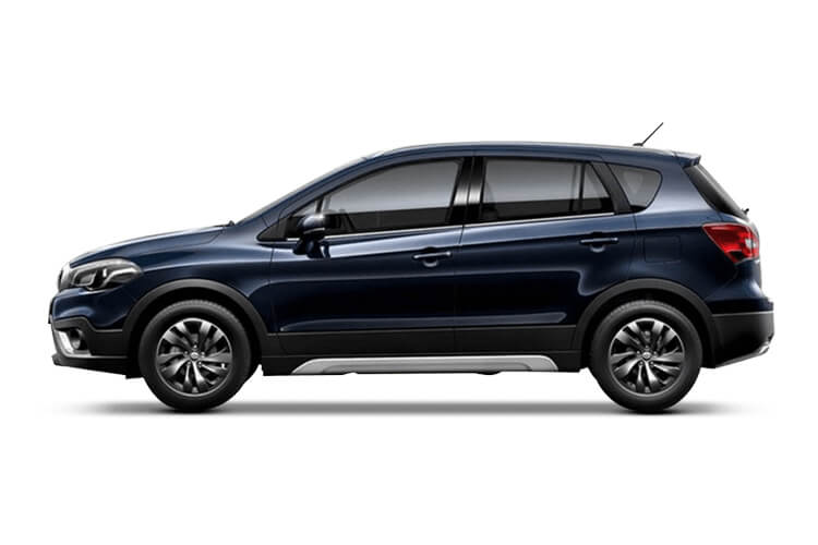 Suzuki S-Cross SUV 1.4 Boosterjet MHEV 129PS SZ-T 5Dr Manual [Start Stop] back view
