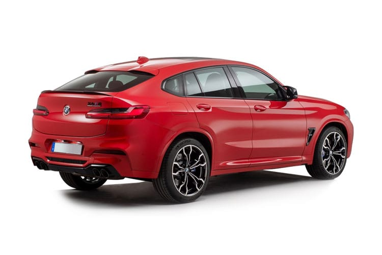 BMW X4 xDrive20 SUV 2.0 d 190PS M Sport 5Dr Auto [Start Stop] back view