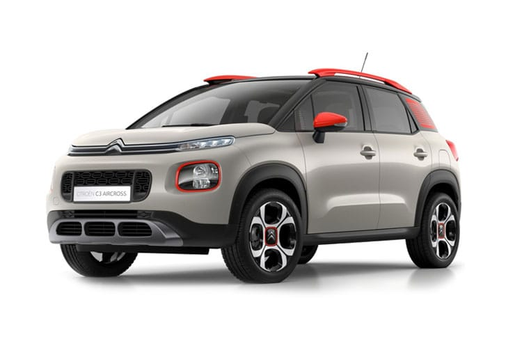 Citroen C3 Aircross SUV 1.2 PureTech 110PS Shine Plus 5Dr Manual [Start Stop] front view