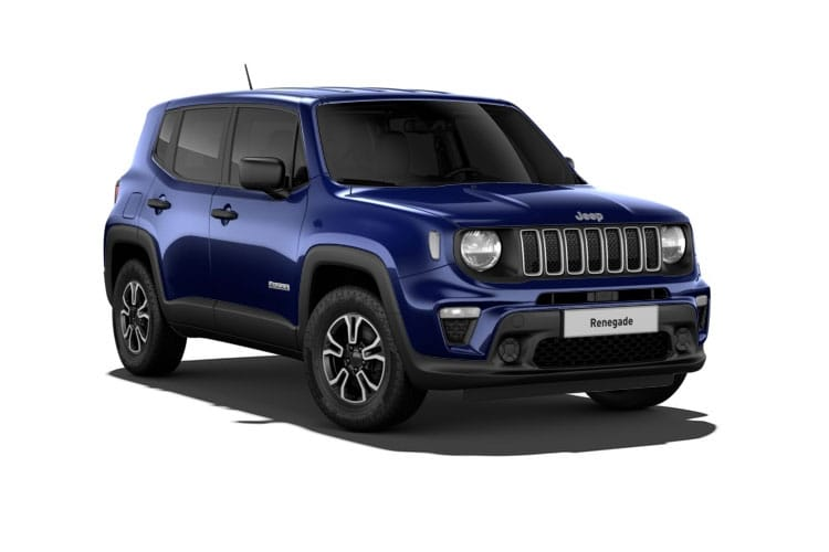 Jeep Renegade SUV 1.0 GSE T3 120PS Longitude 5Dr Manual [Start Stop] front view