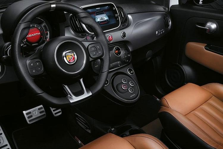 Abarth 595 Hatch 3Dr 1.4 T-Jet 180PS Competizione 3Dr Manual inside view