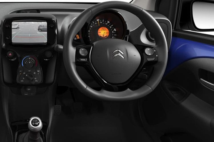Citroen C1 Hatch 3Dr 1.0 VTi 72PS Touch 3Dr Manual [Start Stop] inside view