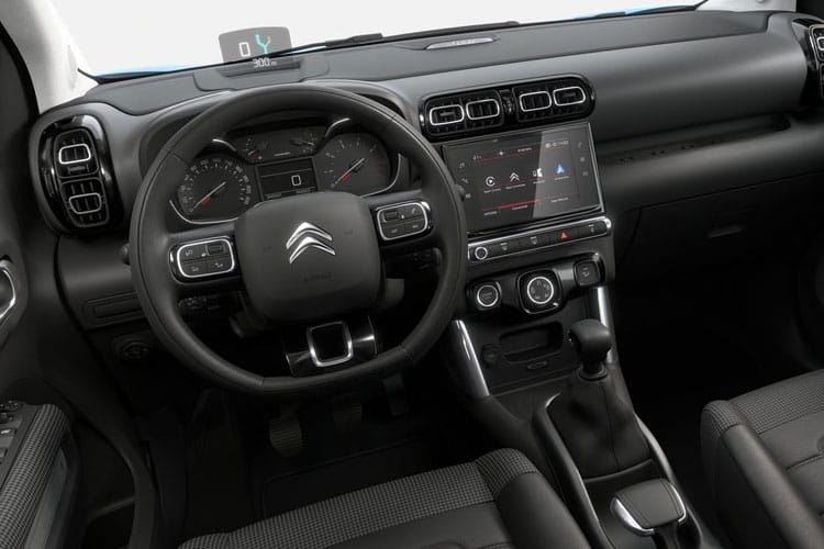 Citroen C3 Aircross SUV 1.2 PureTech 110PS Shine Plus 5Dr Manual [Start Stop] inside view