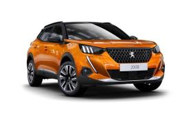 Peugeot 2008 SUV personal contract purchase cars